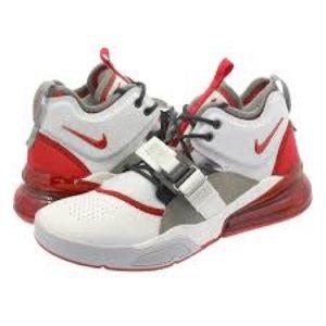 ❤️ Nike Air Force 270 summit white/university red